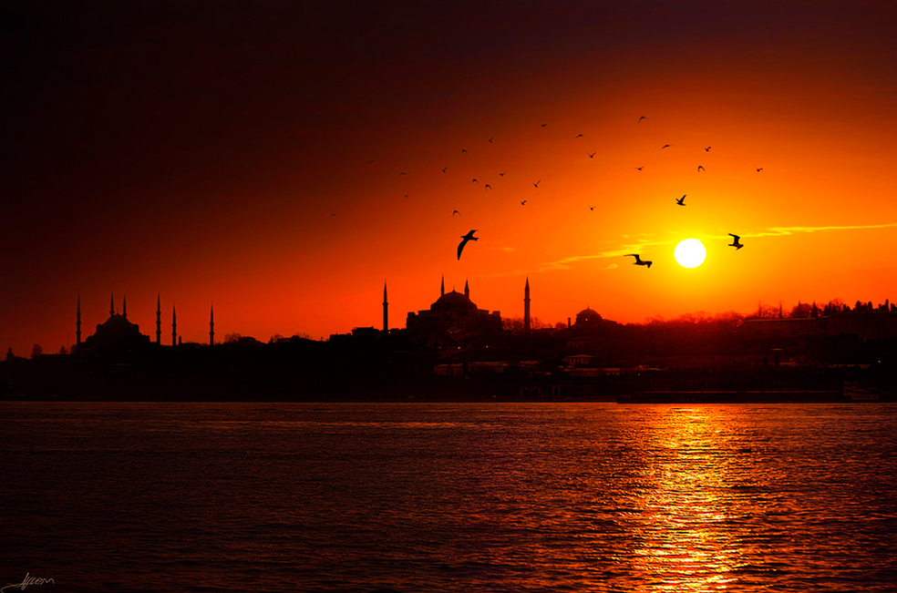 atardecer bosforo Guía de viaje: Estambul antigua, occidental y asiática